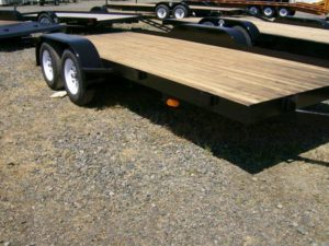 Bulldog Trailers Auto Bulldog 7x16 Flatbed Car Trailer